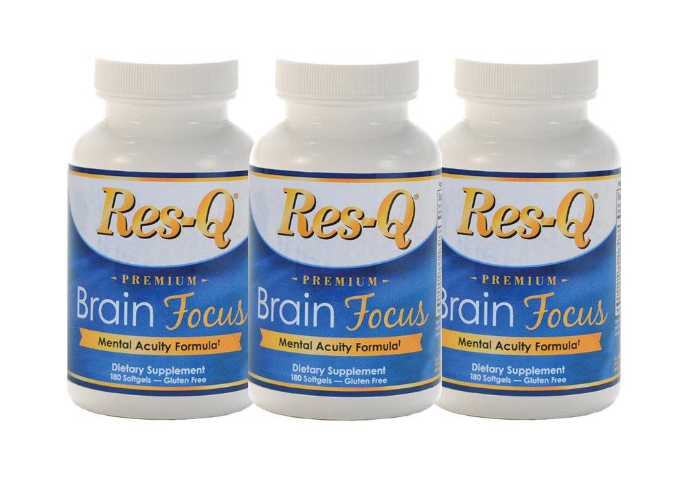 Res-Q Brain Focus 3 Bottle Pack