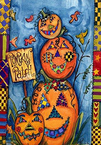 Toland Home Garden Pumpkin Patch 12.5 x 18 Inch Decorative C