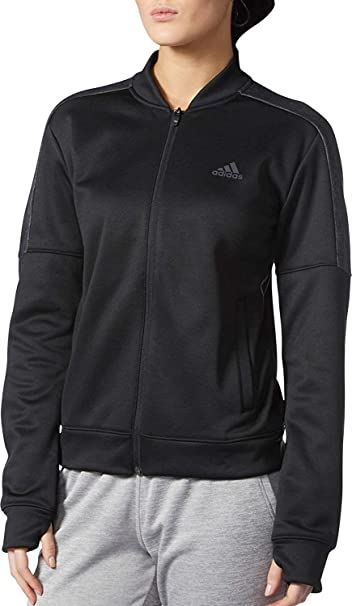 adidas Women's Team Issue Bomber Jacket Black cf0131 at