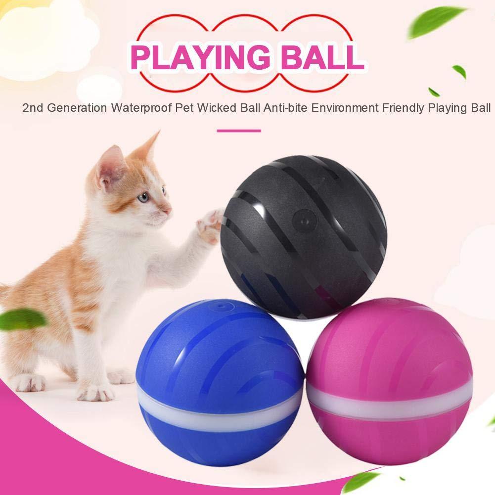 Pelota intermitente de juguete para mascotas, bola malvada para ...