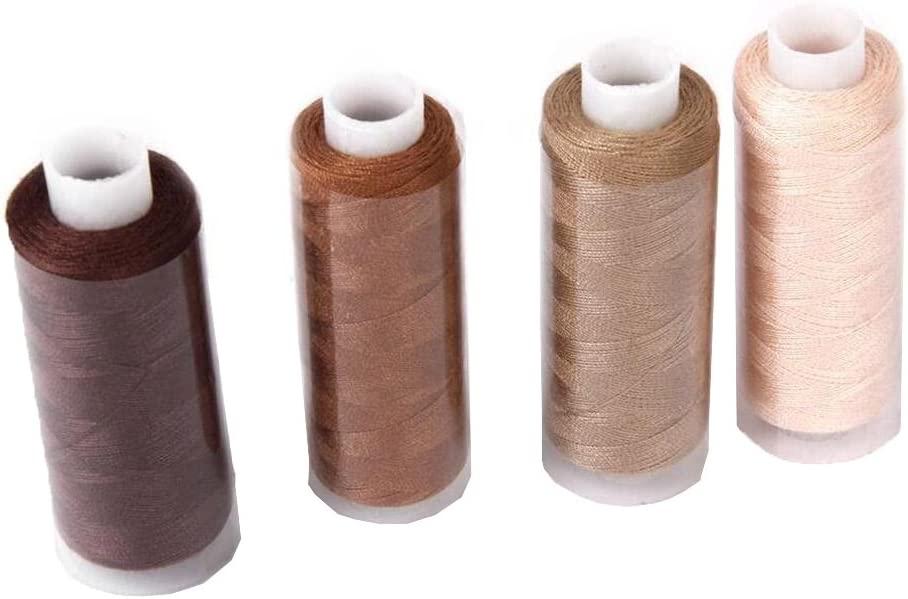 Kifdiifgoso Sewing Thread Kit 30 Color Spools 250 Yards Per Spool Polyester Thread All Purpose Hand and Machine Sewing