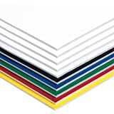 "Pacon Foam Board, 6 Assorted Colors,  20"" x 30"", 10 Sheets"