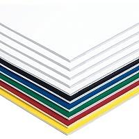 Pacon Foam Board, 20-Inchx30-Inch, Assorted Colors, 10 Boards