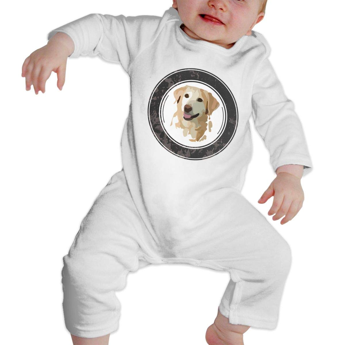 Blue Cat Pizza Unisex Long Sleeve Baby Gown Baby Bodysuit Unionsuit Footed Pajamas Romper Jumpsuit
