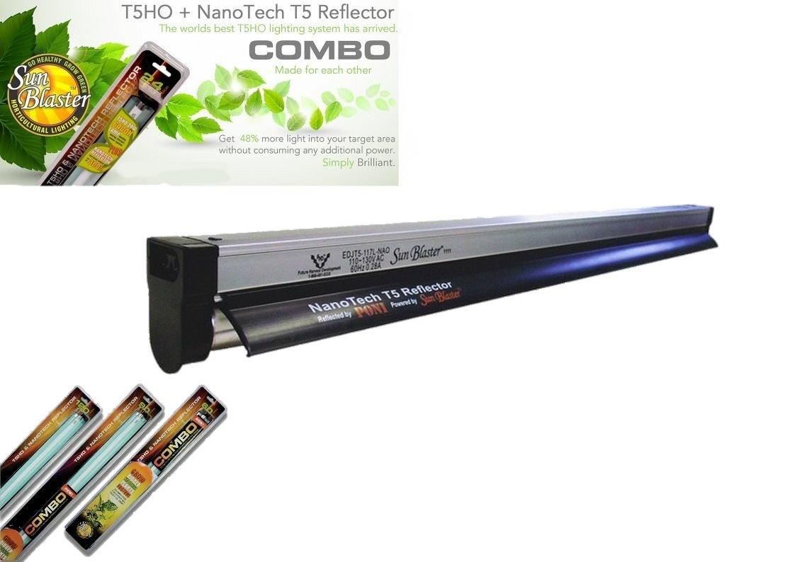 Sunblaster T5 Nano Propagation Grow Light for Cuttings Clones Seeds All Sizes (11w - 30cm)