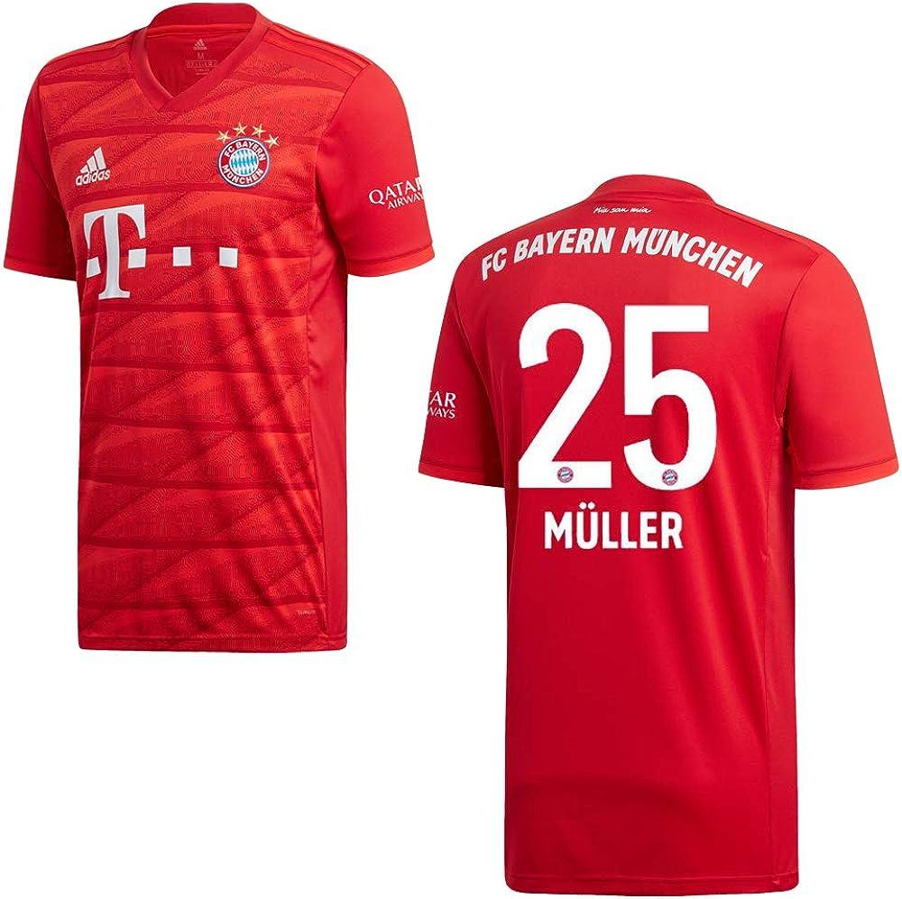 FC Bayern M/ünchen Sweat /à Capuche avec Logo Rouge XXL Rouge