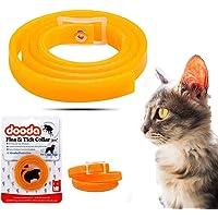 Womdee Floh-, Läuse- und Zeckenhalsband für Halsbänder, Flohhalsbänder für Hunde, Katzen, Wasserfest, Sicherheit