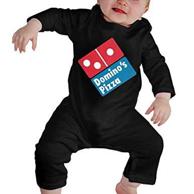 e829ca2a7a0 Amazon.com  Cute Classic Dominos Pizza Clothing Baby Onesies Bodysuits  Girls Boys Long Sleeve Cotton Jumpsuit Romper Tollder Clothes  Clothing