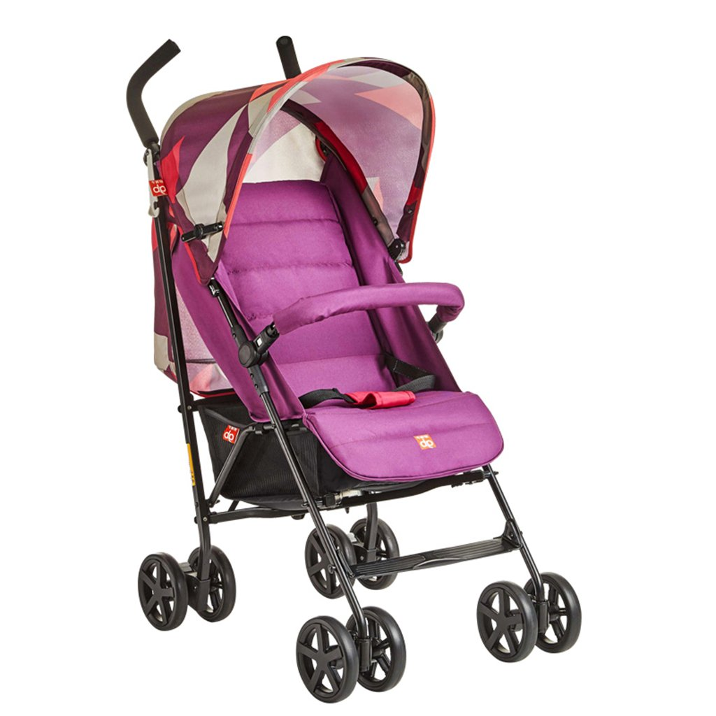 HAIZHEN マウンテンバイク ベビーカートは座ることができます/四季を縛る軽量の傘車赤ちゃんフォールドダンピングトロリーもっと調節可能な320mmの広げられた席ベビーキャリッジ51 * 79 * 105cm 新生児 B07DMP2MDV 3 3