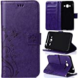 Candywe Leather for Samsung J3,Case for Samsung J3,Cases for Samsung J3,J3 Case,J3 Leather,Fashion Printed Leather Case Cover for Samsung Galaxy J3#06