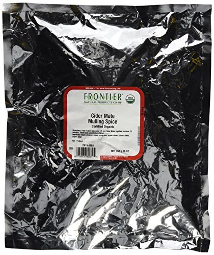 Frontier Bulk Cider Mate - Mulling Spice ORGANIC 1 lb. package - 3PC by Frontier