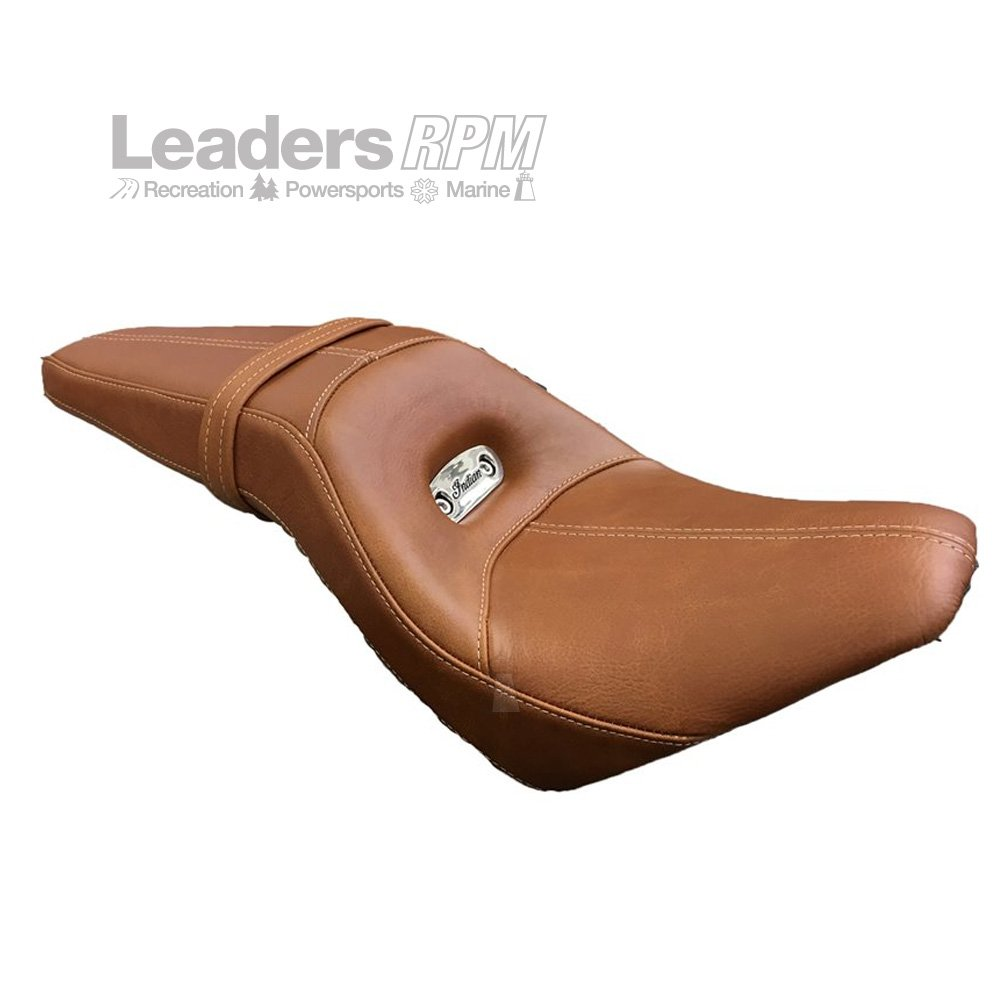 Indian New OEM Scout Sport Seat Tan, 2881997-05