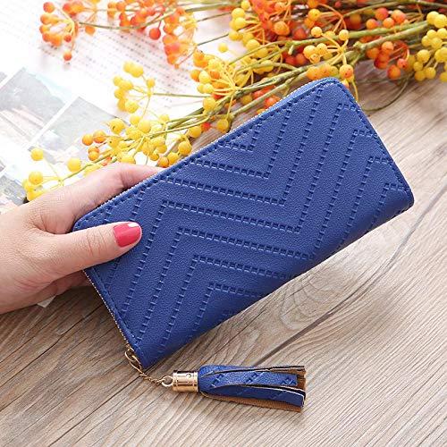 FelixStore New Simple Personality Japan and South Korea Women's Wallet Long Clutch Handbags Student Zipper Phone Package