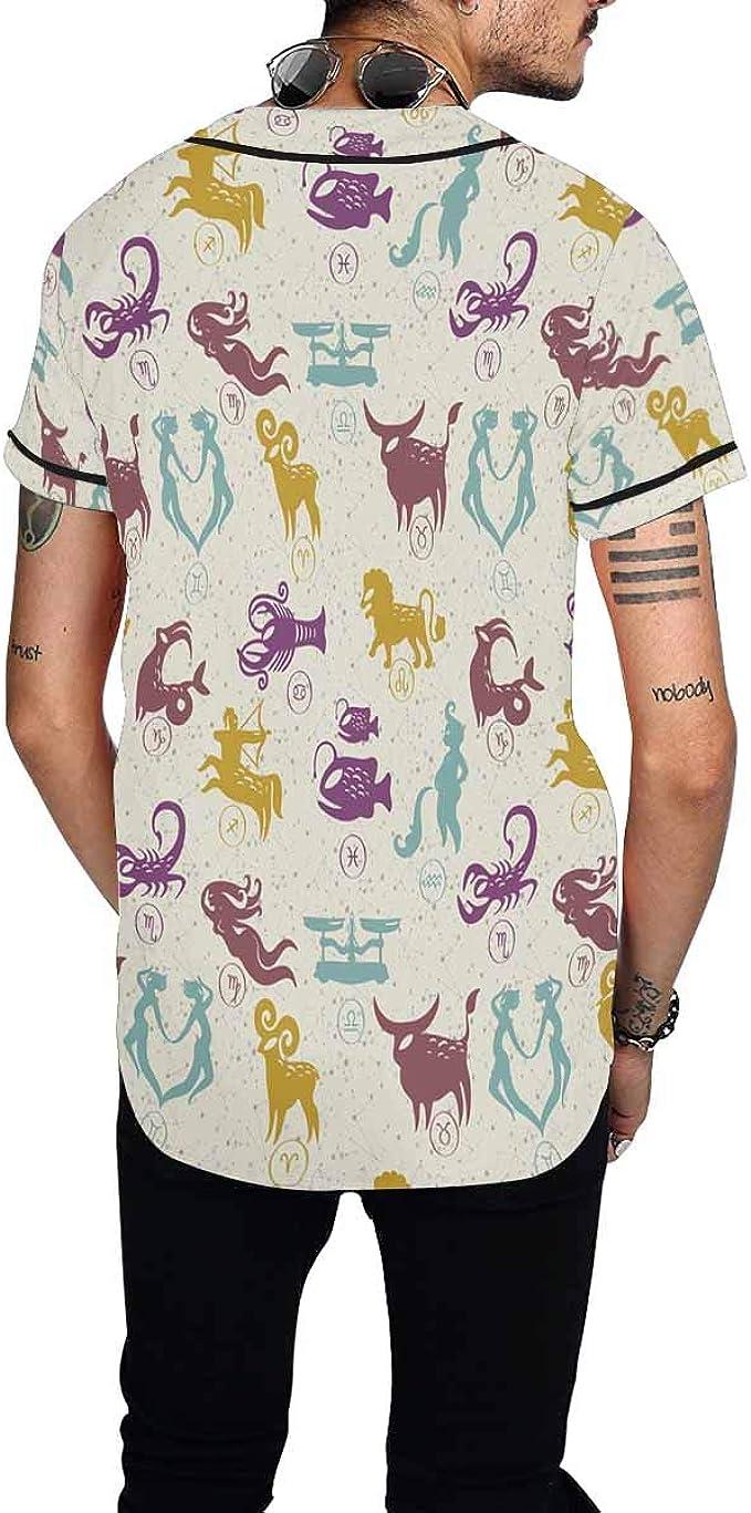 XS-XL INTERESTPRINT Childs T-Shirt Signs of Zodiac