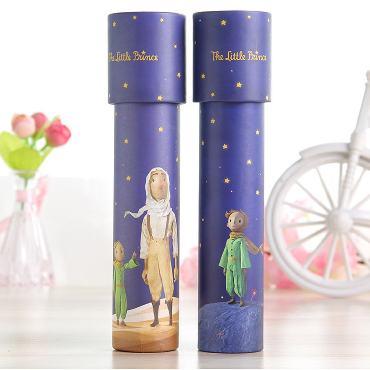 2 Pack magic kaleidoscope Classic Game Educational Toys,Best Birthday Gift for Children 2 Styles STUDY