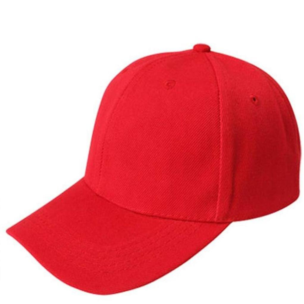 Moginp Baseball Cap Sport Visitor Outdoor Snapback Hip Hop Blank Hat Solid Color Caps Ajustable Mo-6