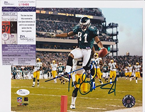 Terrell Owens 8x10 Photo (Terrell Owens Signed Photo - 8x10 + COA U19486 - JSA Certified - Autographed NFL Photos)