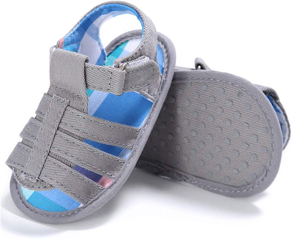 Baby Boy Sandals Girl Shoes Soft Anti-Slip Sole Toddler First Walker Infant Sandals for Baby boy 0-18 Months