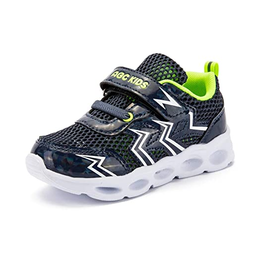 bc493731fd6a2 Amazon.com: ABC KIDS Kids Breathable Knit Sneakers Lightweight Mesh ...
