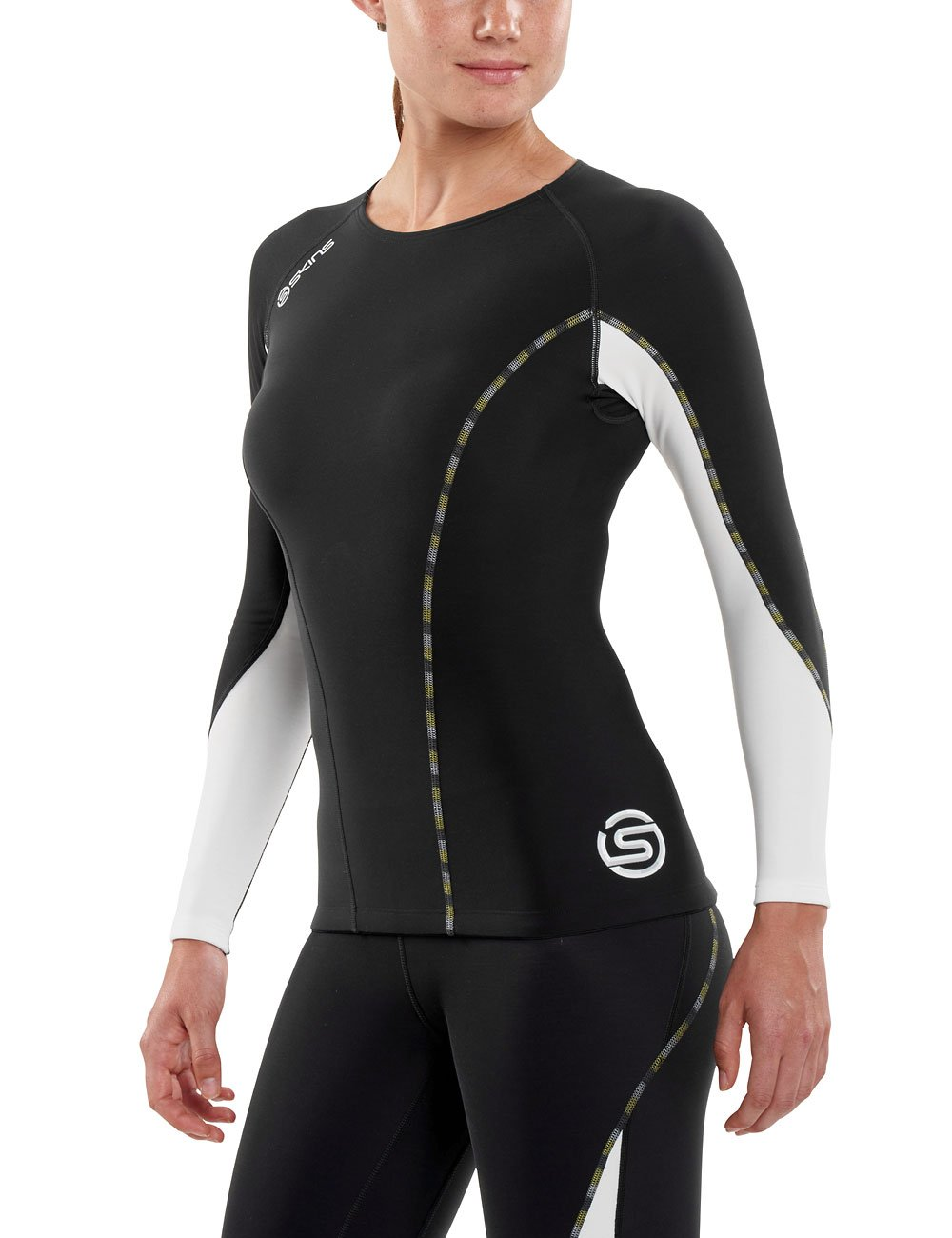 Skins Womens DNAmic Thermal Long Sleeve Compression Top Skins North America