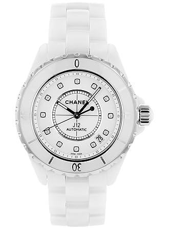0e712f7dd3c3 [シャネル] CHANEL 腕時計 H1629 J12 ホワイトセラミック 12Pダイヤ 38mm メンズ 自動巻き [