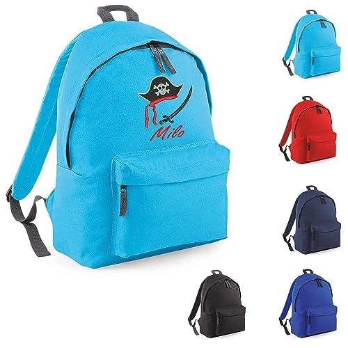design de qualité 02d25 00762 Sac à dos enfant Pirate Personnalisé avec un prénom, pour l ...