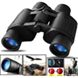 CASON Professional 8 X 40 HD Binoculars Folding Powerful Lens 10X Zoom Portable Prism Binocular Telescope With Pouch Outdoor Binoculars For Long Distance , bird watching,wildlife (Adults ,children,kids)