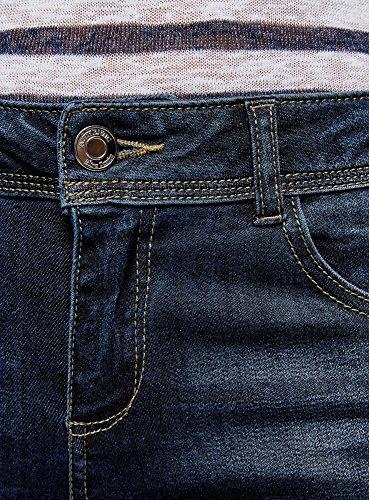 Cerniere Skinny Ultra Blu oodji 7900w Jeans Donna con WXxTTAHn