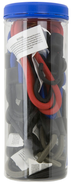 Highland Bungee Cord Assortment Jar BLK:9006600 9006600