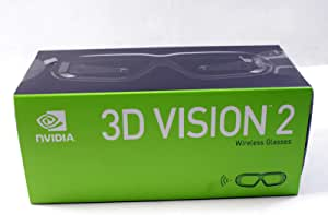 NVIDIA 942-11431-0007-001 3D Vision 2 Wireless Glasses Kit - for Monitor