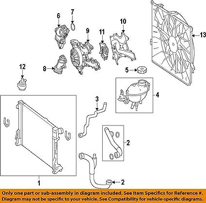 amazon com: mercedes-benz 204 906 68 02, engine cooling fan assembly:  automotive