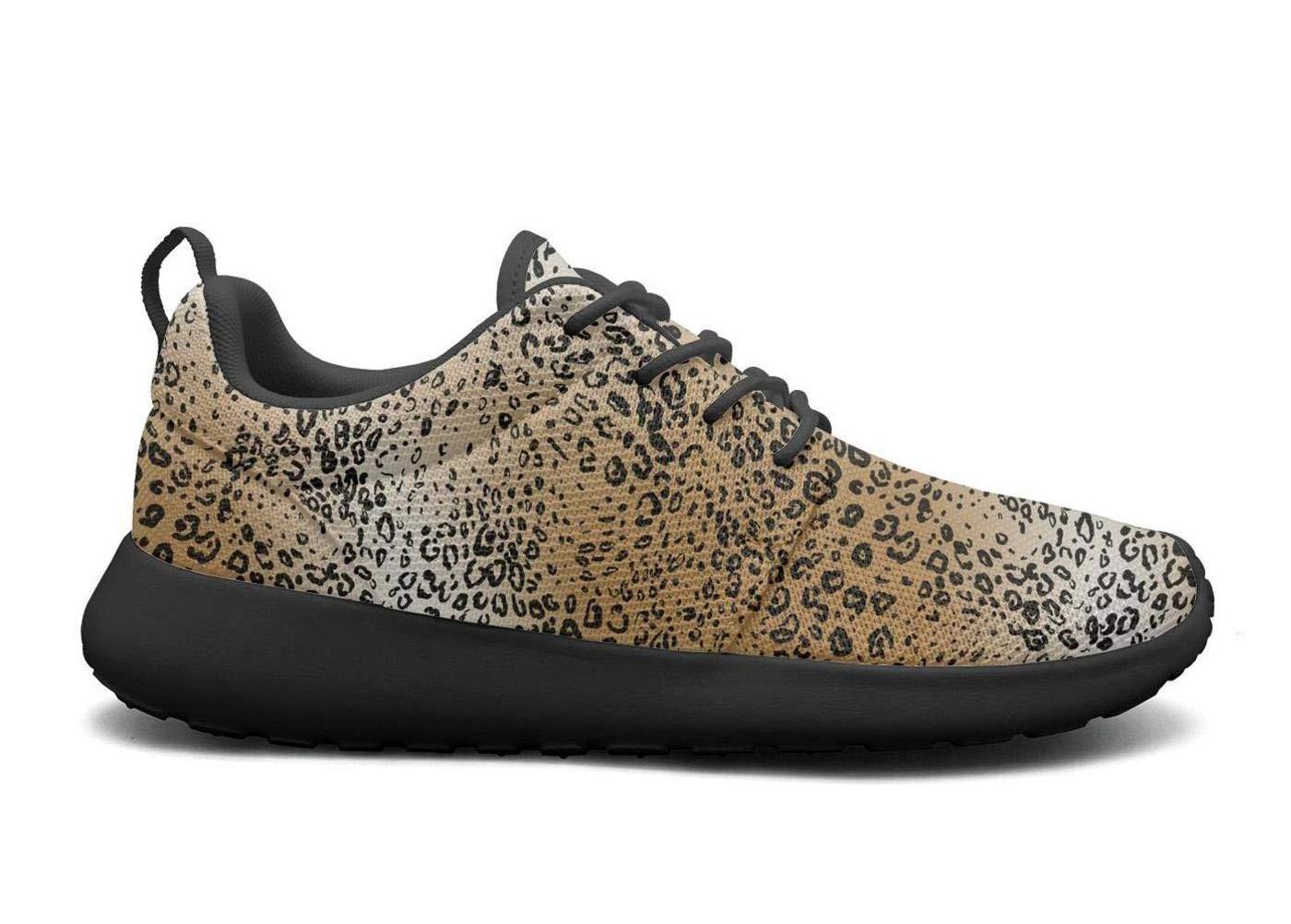 cb989b4a00c5 Amazon.com  Lingxxshow Cheetah Leopard Animal Skin Texture Image Print  Women Sports Running Shoes Casual Lightweight Athletic Sneakers Fashion   Sports   ...