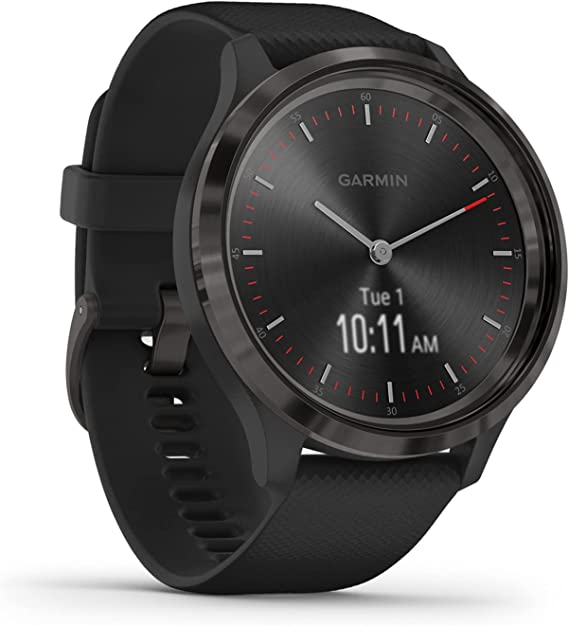 Garmin Vivomove 3S Beige-Rosegold Smratwatch Hybrid Uhr Schrittzähler