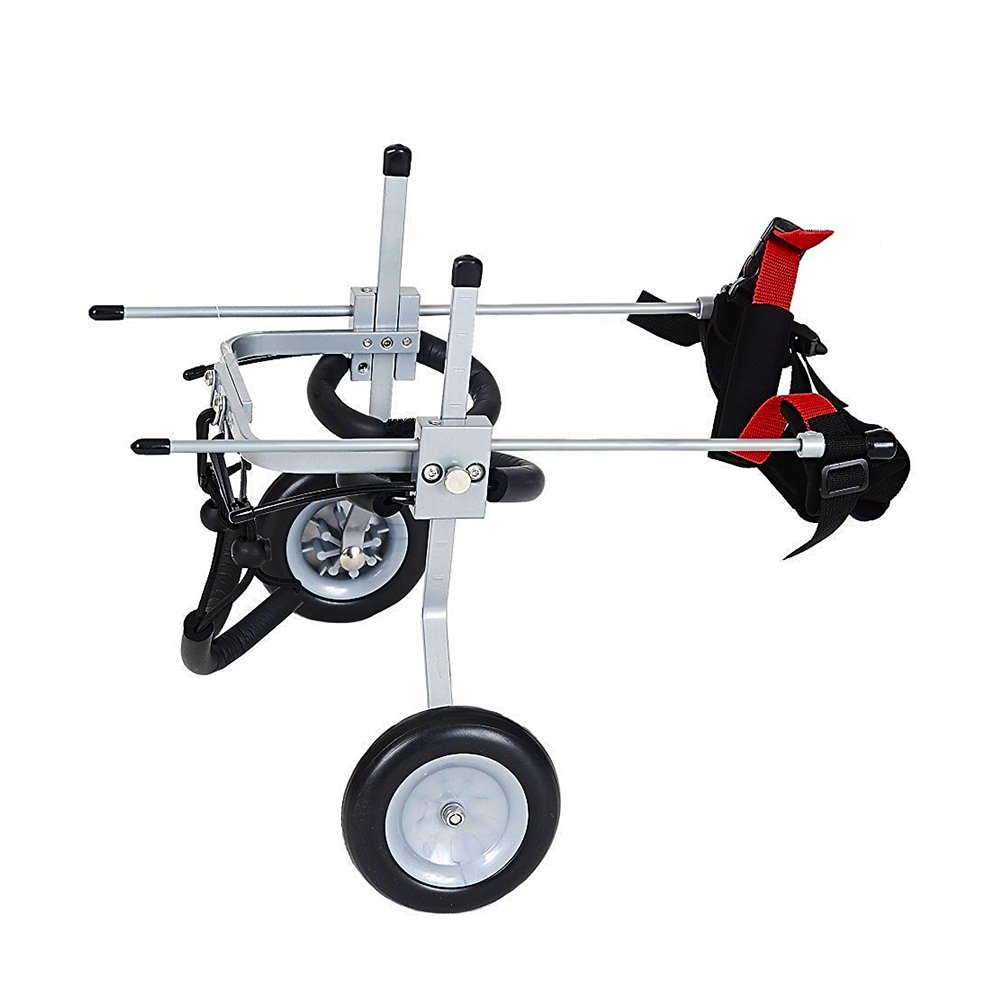 TrendSpotter Adjustable Dog Wheelchair for Pet Rehabilitation Soft Harnesses Size XXS