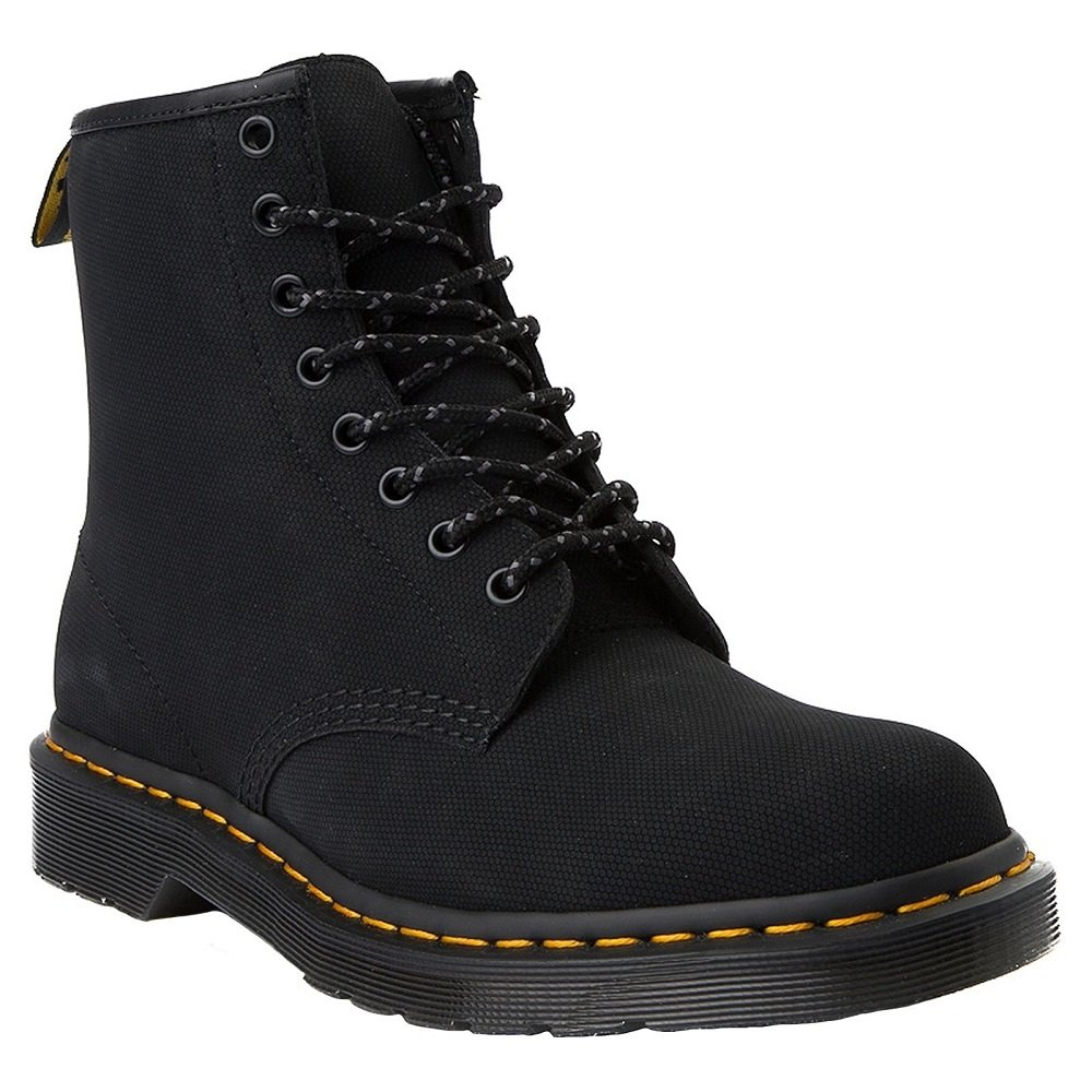 Dr. Martens Men's 1460 Combat Boot, 8.5 B(M) US Women/7.5 D(M) US Men B078ZKX84N 9 M UK (10 US)|Black