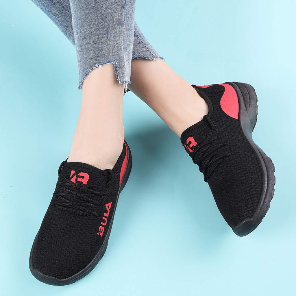 FACAIAFALO Womens Casual Anti-Slip Sport Walking Sneakers Fashion Jogging Sports Lightweight Athletic