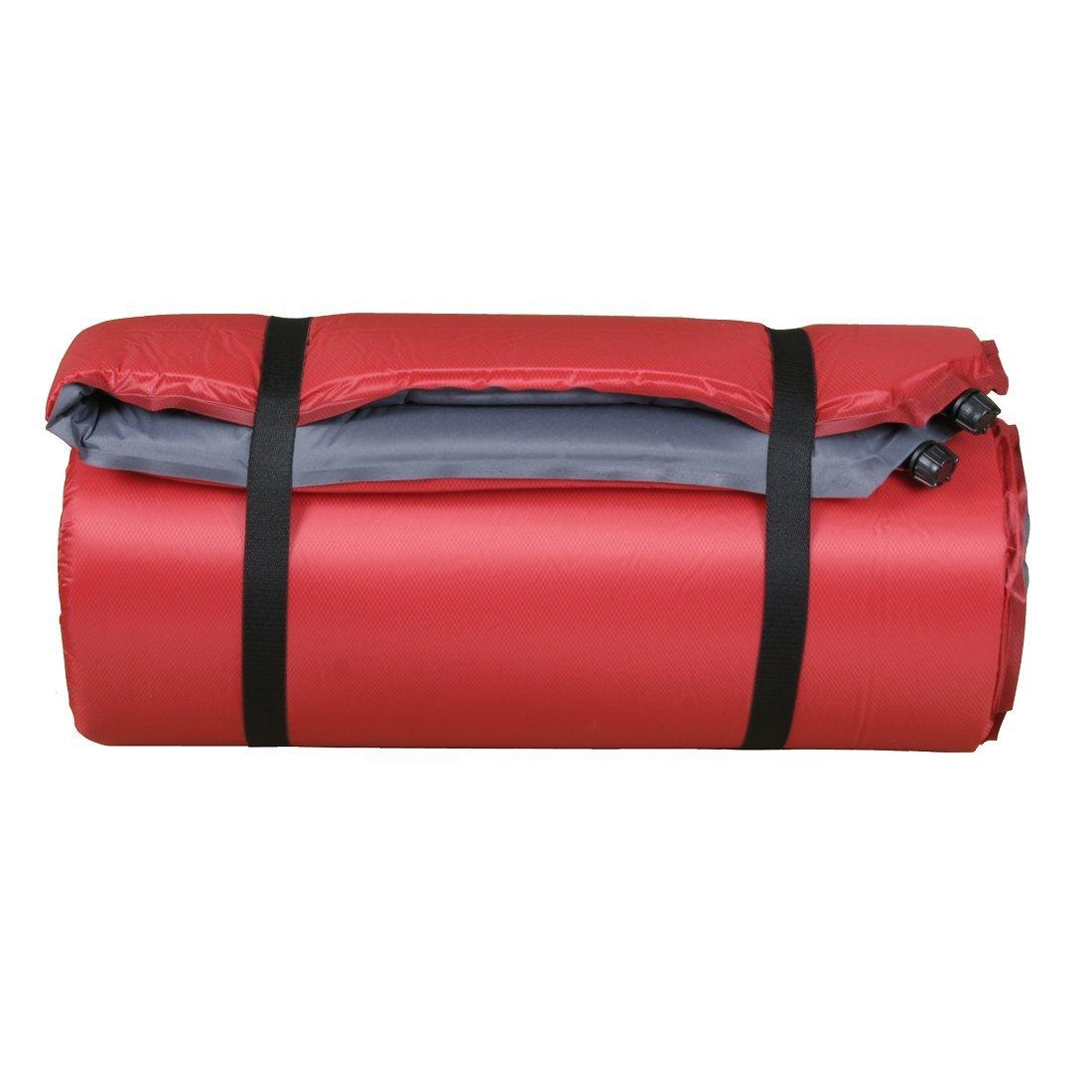 10T Bob Twin Esterilla Auto-inflables, Unisex, Rojo, Estándar: Amazon.es: Deportes y aire libre