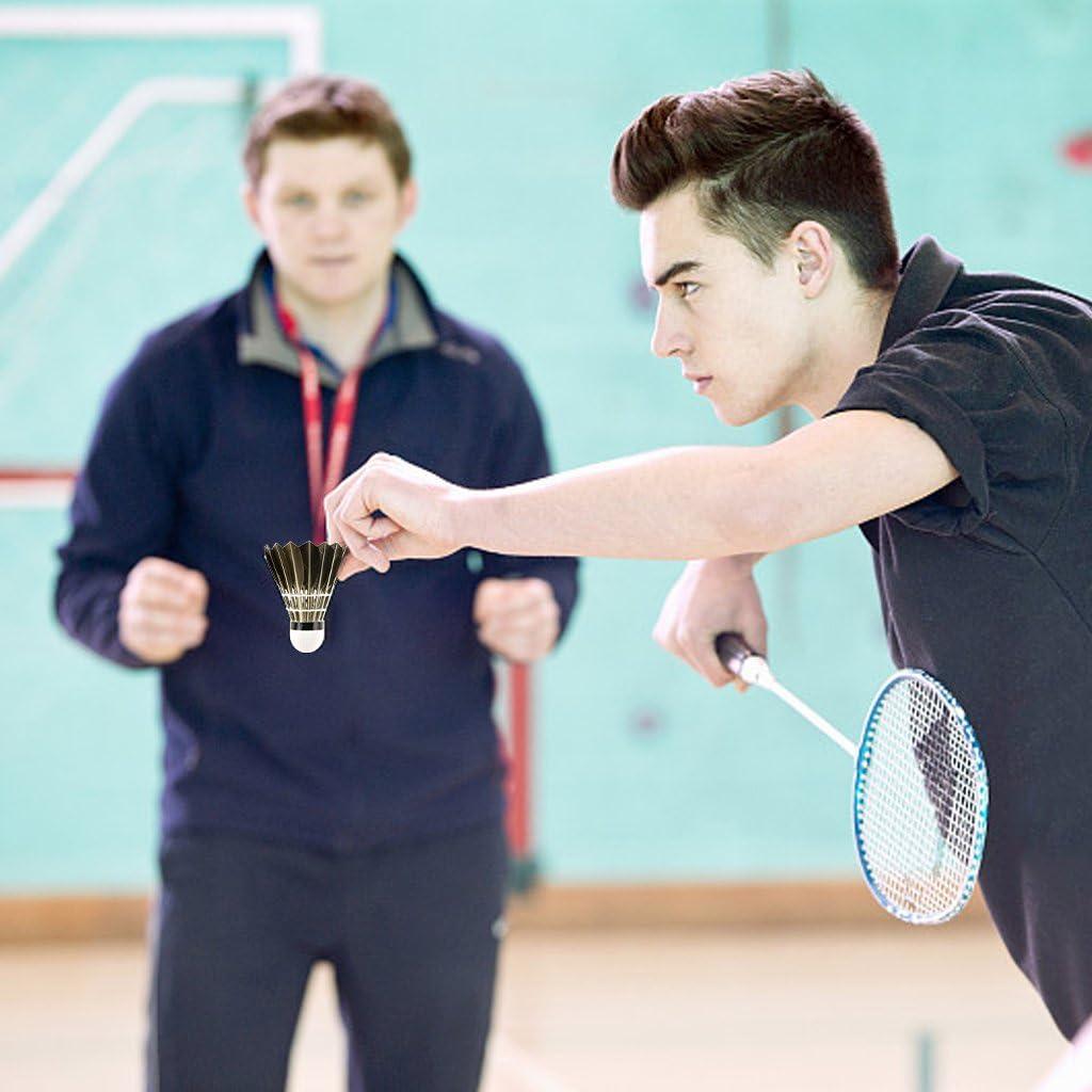Philonext 12 Pack en plumes d/'oie Badminton Volants boules avec grand
