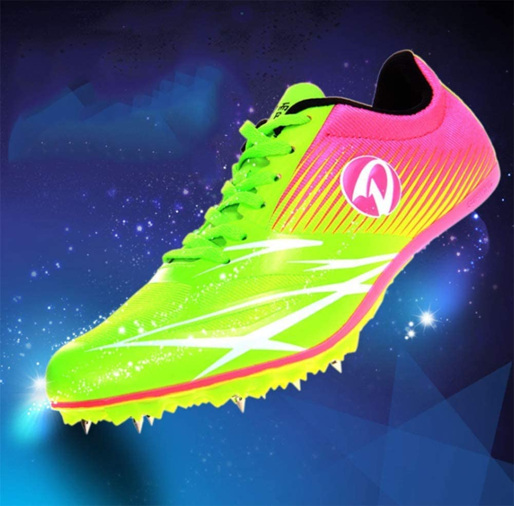YFJL Women's Track Spike Shoes Running