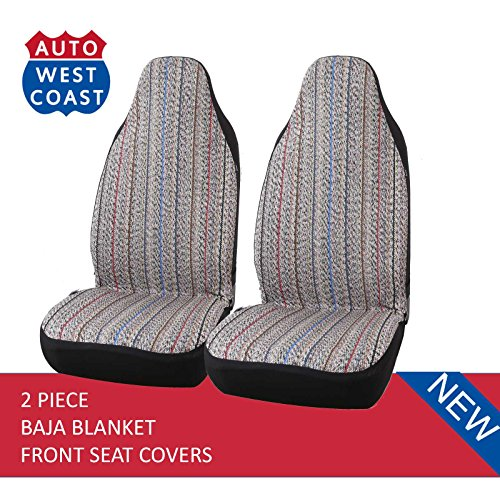 Blanket Bucket Seat Cover for Car, Truck, Van, SUV - Airbag Compatible (2PCS) (Color) ()