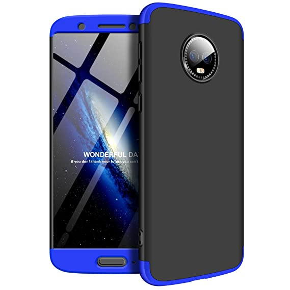 Amazon.com: LEECOCO Motorola G6 2018 Case Ultra Thin 3 in 1 ...