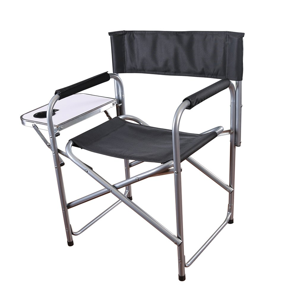 Amazon.com : Stansport Folding Directoru0027s Chair With Side Table : Sports U0026  Outdoors