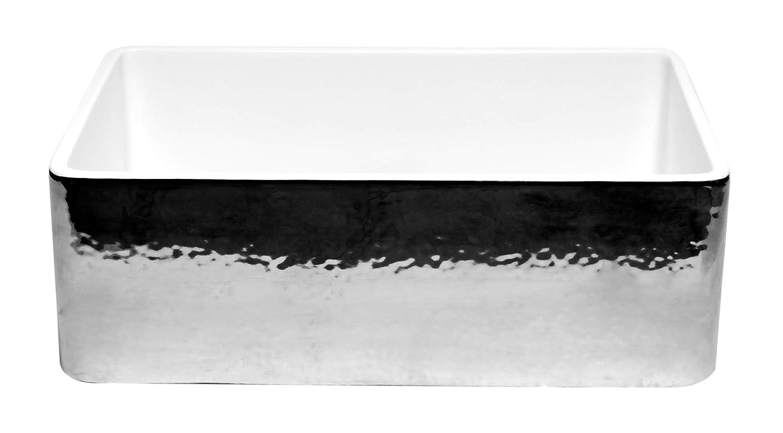 ALFI brand ABHP3020SB Kitchen Sink Platinum