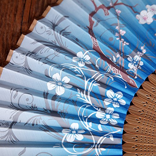 Fan Hand Held Folding Fan Chinese Style Exquisite Design