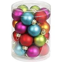Inge-glas 1558D001 - Bolas de Navidad, 30 mm