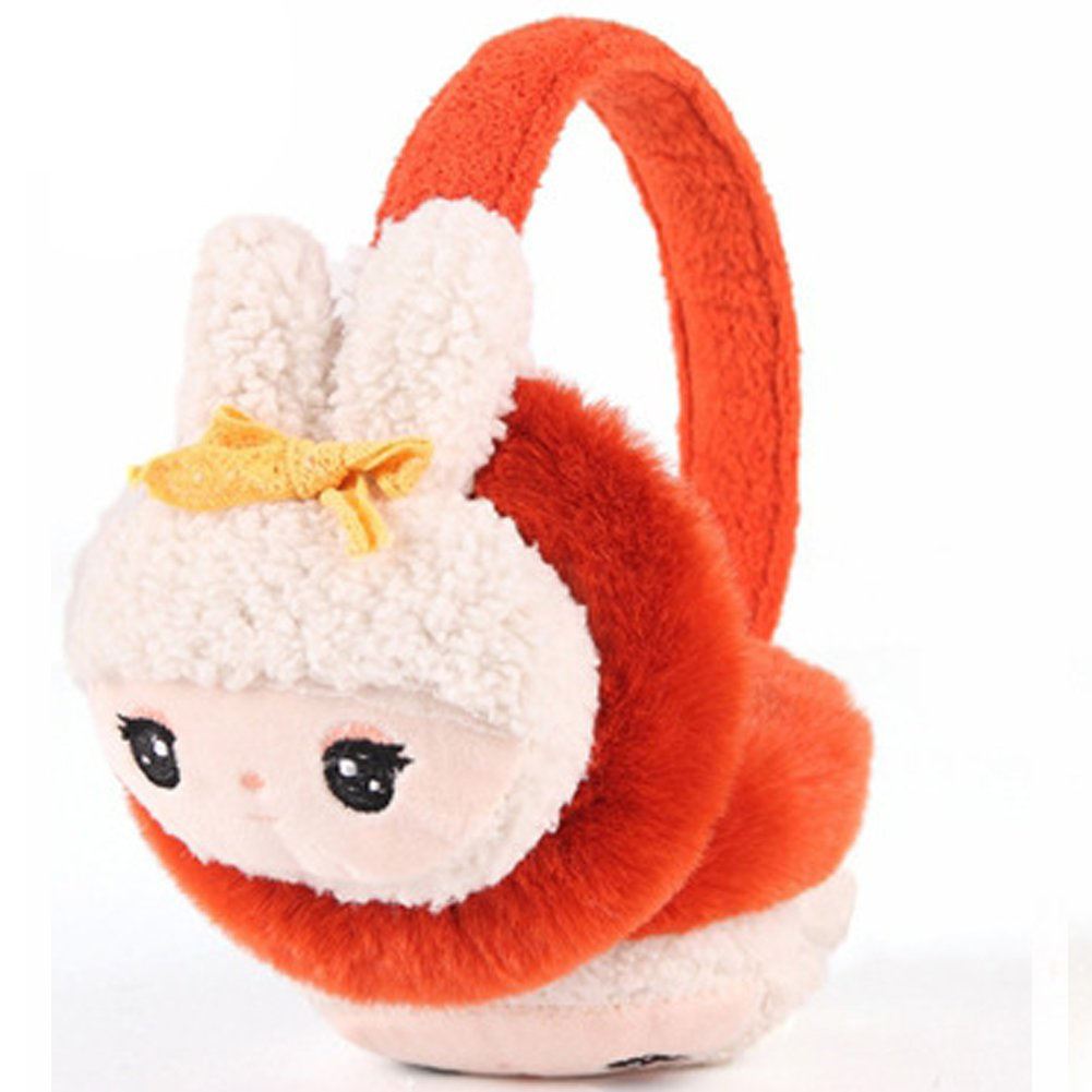 Children Earmuffs-ViewHuge Boys Girls Winter Warm Lovely Cartoon Rabbit Plush Ear Thick Ear Muffs EarMuff Earwarmers For Kids Gift
