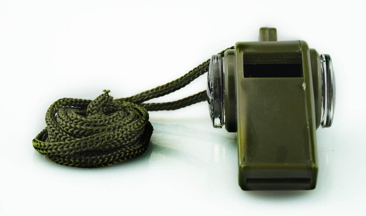 SE CCH3 1-in Kompass Whistle gr/ün