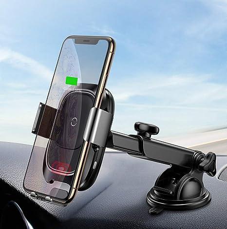 Amazon.com: Baseus - Cargador de coche inalámbrico para ...