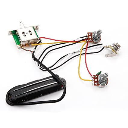 amazon com surfing electric guitar pickup wiring harness with rh amazon com