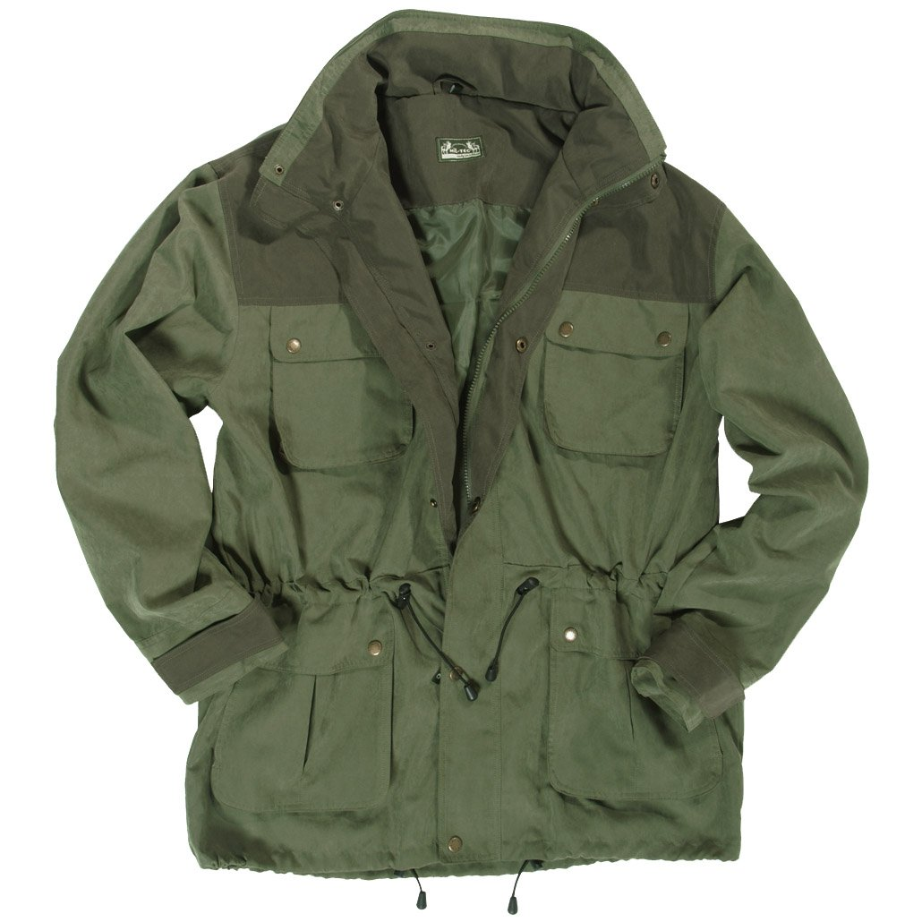 bf773d0152a Mil-Tec Hunting Jacket Olive  Amazon.co.uk  Clothing